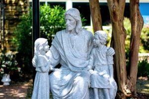 jesus Christus mit Kindern